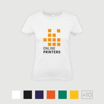B&C Basic T shirts Damer   Onlineprinters