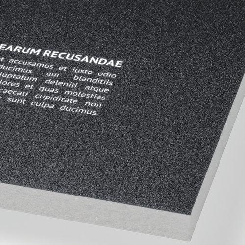 Blødskumsplade, grå