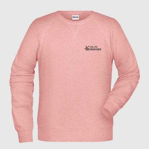 lyserød meleret