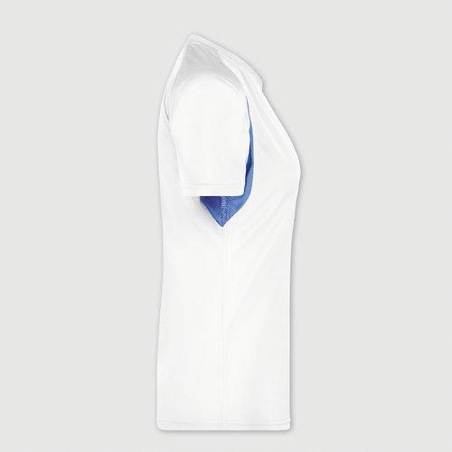 hvid / royalblå