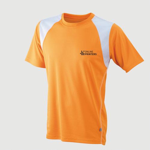 orange / hvid