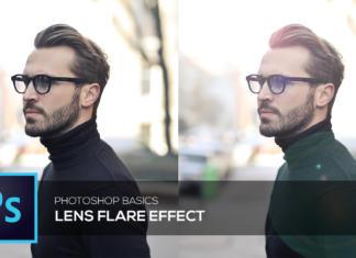 Generer lens flare – Photoshop