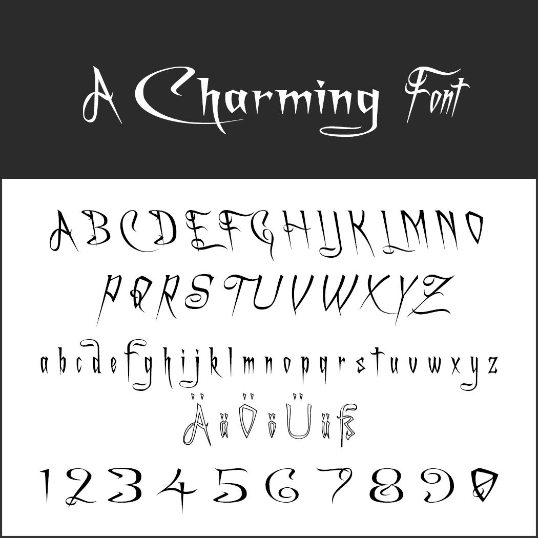 halloween font: A Charming Font